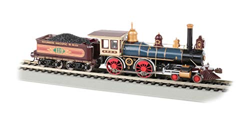 4-4-0 American Dcc Sound Value Equipped Steam Locomotive - Union Pacific #119 W/Coal Load - HO Scale ()