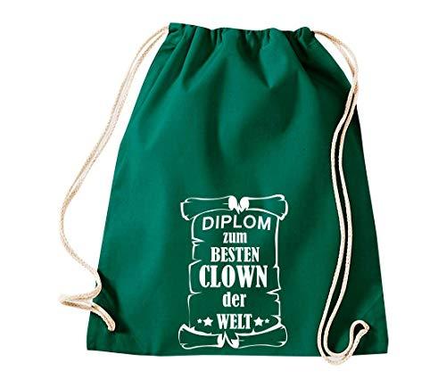 Shirtstown De Mujer Tela Bolso Gruen Para Algodón 6R6g4