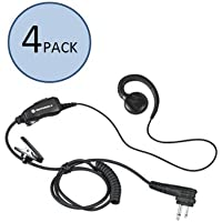 Motorola HKLN4604 C-Shaped Earpiece (4 Pack)
