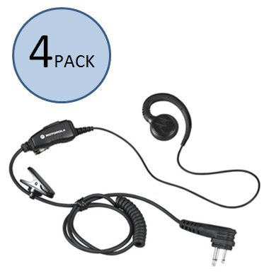 (Motorola HKLN4604 C-Shaped Earpiece (4 Pack))