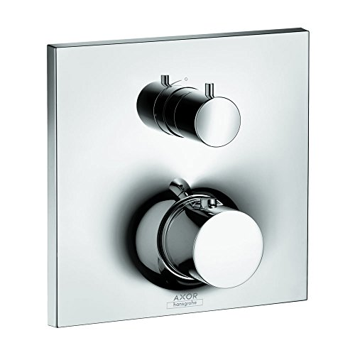 AXOR 18745001 Massaud Thermostatic Trim with Volume Control, Chrome ()