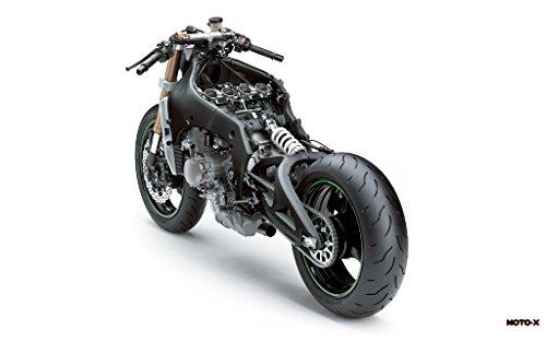 Motorcycle Kawasaki Ninja Zx-10R 2011 30 - 24X36 Poster