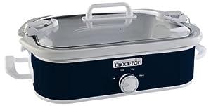 Crock-Pot SCCPCCM350-BL Manual Slow Cooker