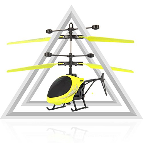 Price comparison product image Xander Mini Infraed Induction Helicopter,  LED Flashlight RC Done,  Aircraft Toys,  Halloween GIft