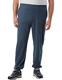 Men's Big & Tall Lightweight Elastic Cuff Sweatpants