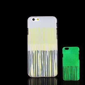 WQQ azteca resplandor patrón mandala en el caso oscuro para el iphone 6 Cubierta