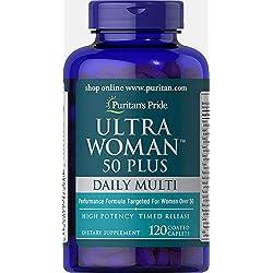 Puritans Pride Ultra Woman 50 Plus Multivitamin Caplets...