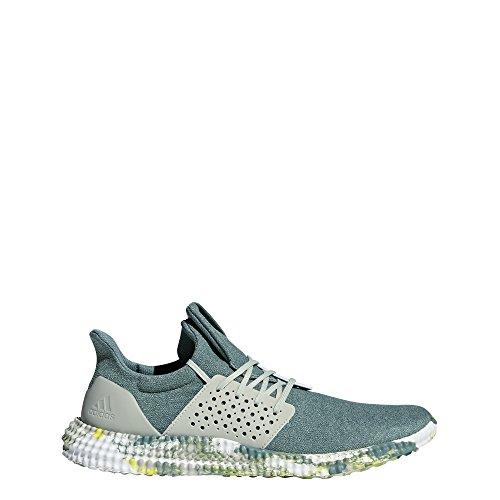 adidas Athletics 24/7 Cross Trainer, raw Green/ash Silver/Shock Yellow, 10.5 M US