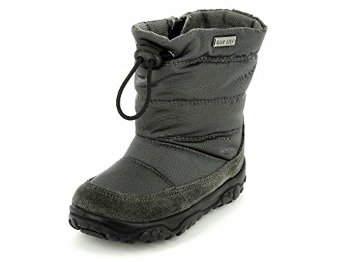 Stivale primi Boy doposci Boot E2522 passi Bimbo Step Baby foncé Naturino Rain Grey gris SYPw0