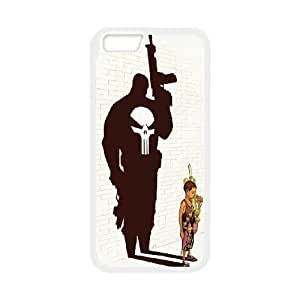 iPhone 6 Plus 5.5 Inch Cell Phone Case White Punisher Kid BNY_6801518