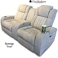 Synergy Collection - Power Recline 75 Loveseat by Clay Madison (Power Recline Loveseat)