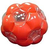 Kenscott Orange/white Inflatable Jumbo 51'' Giga Ball Playground Ball