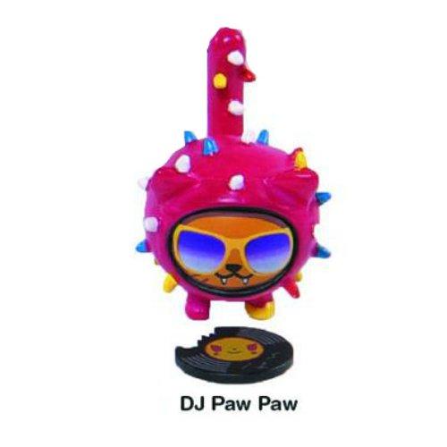 DJ Paw Paw Cactus Kitties Vinyl Figure Tokidoki Cactus Friends Simone Legno (Cactus Vinyl Tokidoki Figure Friends)