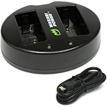 Wasabi Power Dual USB Battery Charger for Fujifilm NP-W126, BC-W126