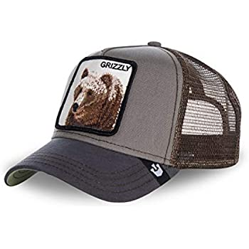 Goorin Bros. Mens Grizzly Snapback Baseball Cap Hat Brown