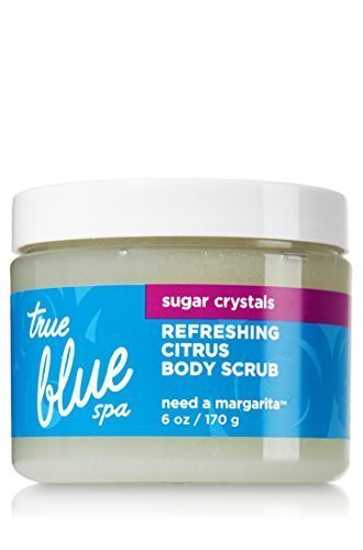 Bath & Body Works True Blue Spa Refreshing Citrus Body Scrub