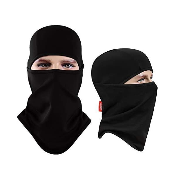 2b879810c Aegend Balaclava Windproof Ski Face Mask Winter Motorcycle Neck Warmer  Tactical Balaclava Hood Polyester Fleece for Women Men Youth Snowboard  Cycling ...