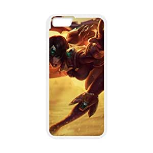 iPhone 6 Plus 5.5 Inch Cell Phone Case White League of Legends Sivir 0 OIW0391054
