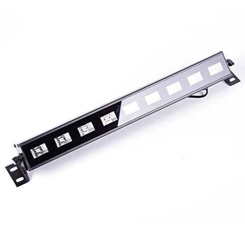 U`King 4Pcs Black light Bar with 9LEDs x 3W UV LED for Glow Bar Neon Blacklight Party Stage Lighting by U`King (Image #4)