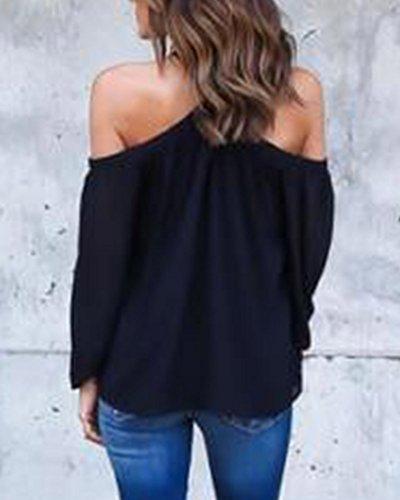 Mujeres Camiseta De Moda Blusas De Gasa Sin Tirantes Irregulares Sin Tirantes: Amazon.es: Deportes y aire libre
