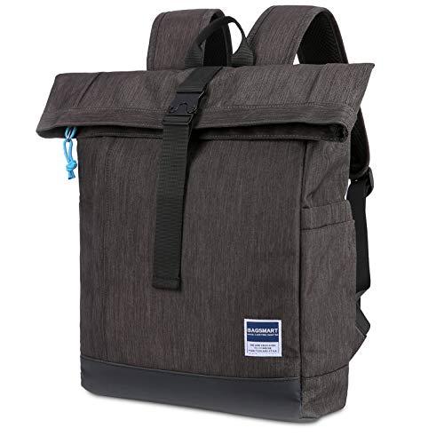 f944ea8d2aec Jual BAGSMART Travel Laptop Backpack, Roll-Top Backpack, Water ...