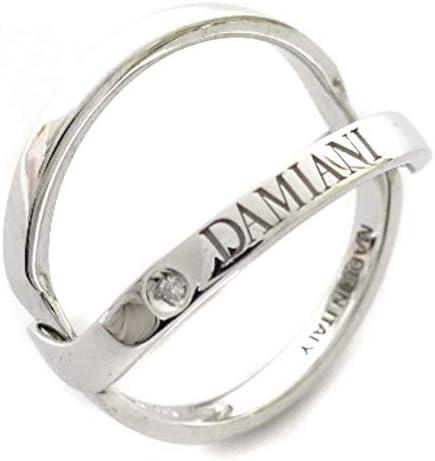 ダミアーニ Damiani アブラッチョ 1Pダイヤ WG リング・指輪 10.5号 ホワイトゴールド レディース K18ゴールド ジュエリー [中古]