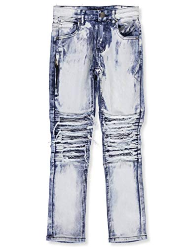 GS-115 Big Boys' Jeans - White ice, 8