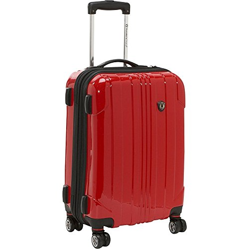 travelers-choice-sedona-100-pure-polycarbonate-21-exp-spinner-carry-on-red