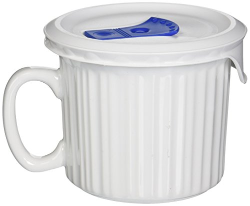 Corningware Pop-Ins Mug White 20 Oz (Mug Ins Pop 22 Oz)