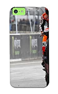 New 15eff321331 Moto Gp Motorbikes Repsol Casey Stoner Race Tracks Skin Case Cover Shatterproof Case For Iphone 5c