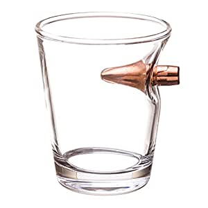 .308 Real Bullet hand-blown Shot Glass