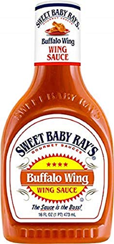 SWEET BABY RAYS Marinade & Sauce, Buffalo Wing, 16 oz ()