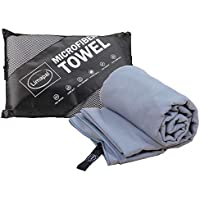 Limapal Microfiber Travel Towel XL 70x35 inches-...