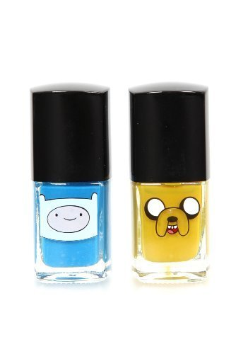 Adventure Time Finn & Jake Nail Polish 2 Pack (Weird Nail Polish Colors compare prices)
