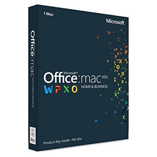 Microsoft Office Home and Business 2011 für 1 MAC - Lizenz, Deutsch - Kein Abo
