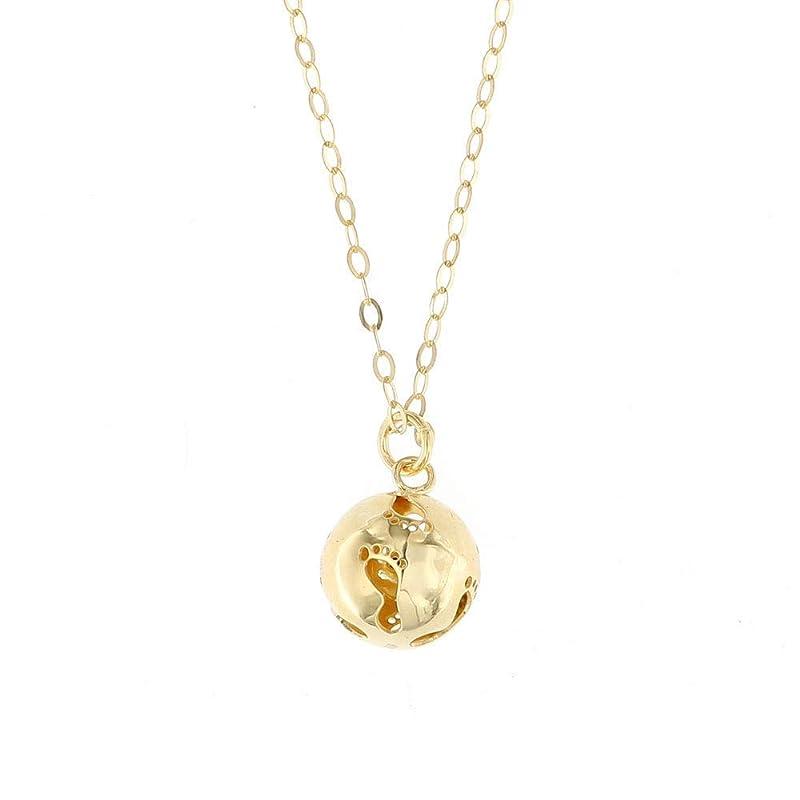 Donipreziosi collana ciondolo Chiama Angeli in Argento 925/% placcato oro bianco