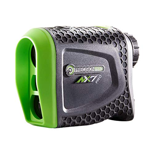 Precision Pro Golf - NX7 Pro Slope Golf Rangefinder - Golf Laser Range Finder with Slope Elevation Measurements, Pulse Vibration Feature, Precision Care Package