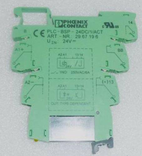 PHOENIX CONTACT PLC-BSP-24DC/1/ACT 3A 24V PLC ACTUATOR BASIC TERMINAL BLOCK