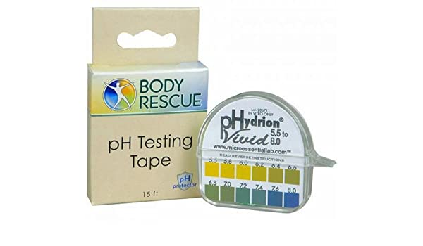 Body rescue ph strips images