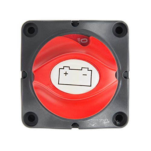 nnect Master Switch, 12-60V Power Cutoff Isolator Switch for RV Marine Boat Car Vehicles 275/1250 Amps Waterproof ()