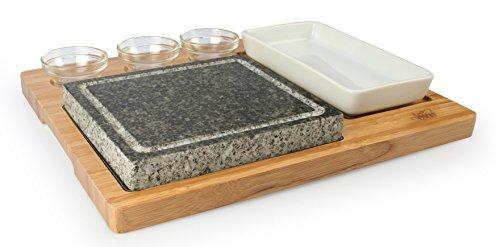 Artestia Barbecue / BBQ / Hibachi / Steak Grill Sizzling Hot Stone.