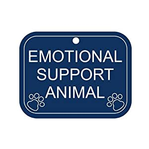 Amazon.com : Engraved Emotional Support Animal Tag : Pet