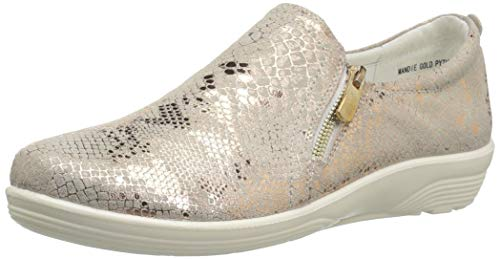 Python Spring Women's by Step Mandie Sneaker Flexus Gold 54ACqwxn0