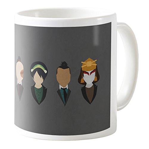 AquaCafeMug - CMSTL-A79414 - 11oz Ceramic Coffee Mug Tea Cup