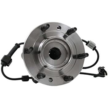 Disc Brake Rotor and Hub Assembly Front IAP Dura BR54031