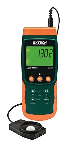 Extech SDL400 Light Meter with Datalogging and Sd (Datalogging Light Meter)