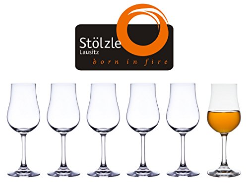 (Stolzle Classic Collection Clear Lead-Free Crystal Port Euro Brandy Glases, 6.75 Ounce, Set of 6)