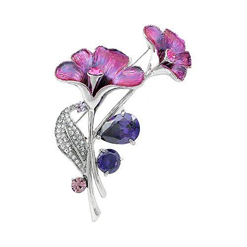 Glamorousky Bluish Austrian Element Crystals