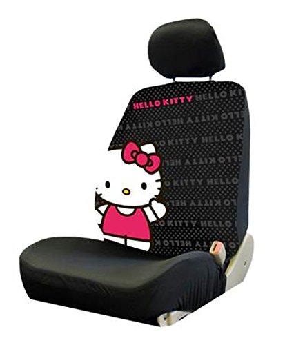 Plasticolor 006926R01 Hello Kitty Core Low Back Seat Cover (Hello Kitty Seat Cover For Car)