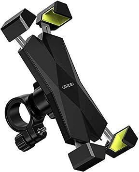 UGREEN Soporte Movil Moto Bicicleta Manillar, Universal Soporte ...